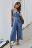 Sexy Sleeveless Summer Casual Jumpsuit 4 Colors
