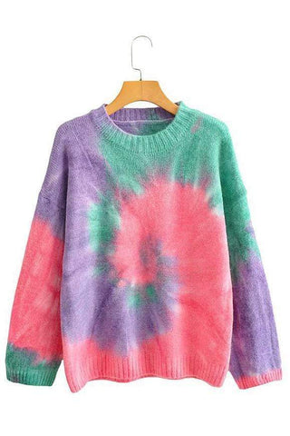 Fashion Tie Dye Festival Sweaters