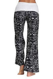 Cat Print Casual Loose Pants 2 Colors