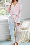 Sale Fashion Tie Dye Casual Pajama Sets Latest Homewear Plus Size
