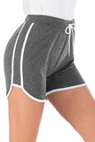 Fashion Plain Casual Sport Short Pants Homewear