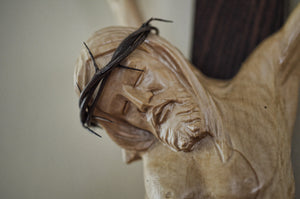 Detail Crown of Thorns Crucifix