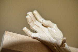 Carver Detail of Hand of Christ