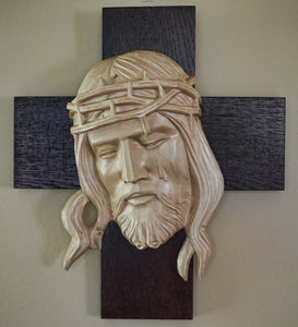 Head of Christ with Tear