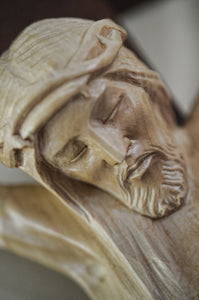 Detail of Chapel Crucifix Hand Carved