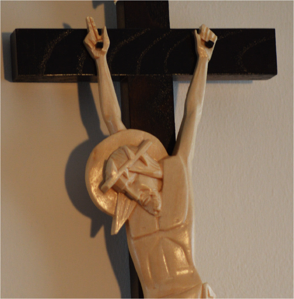Detailed Wedding Crucifix