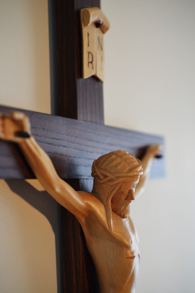 Detail of Traditional Crucifix
