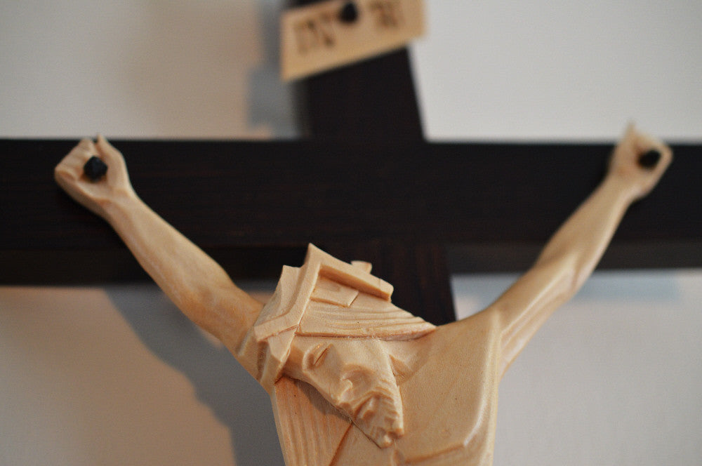 Wedding Crucifix Detail