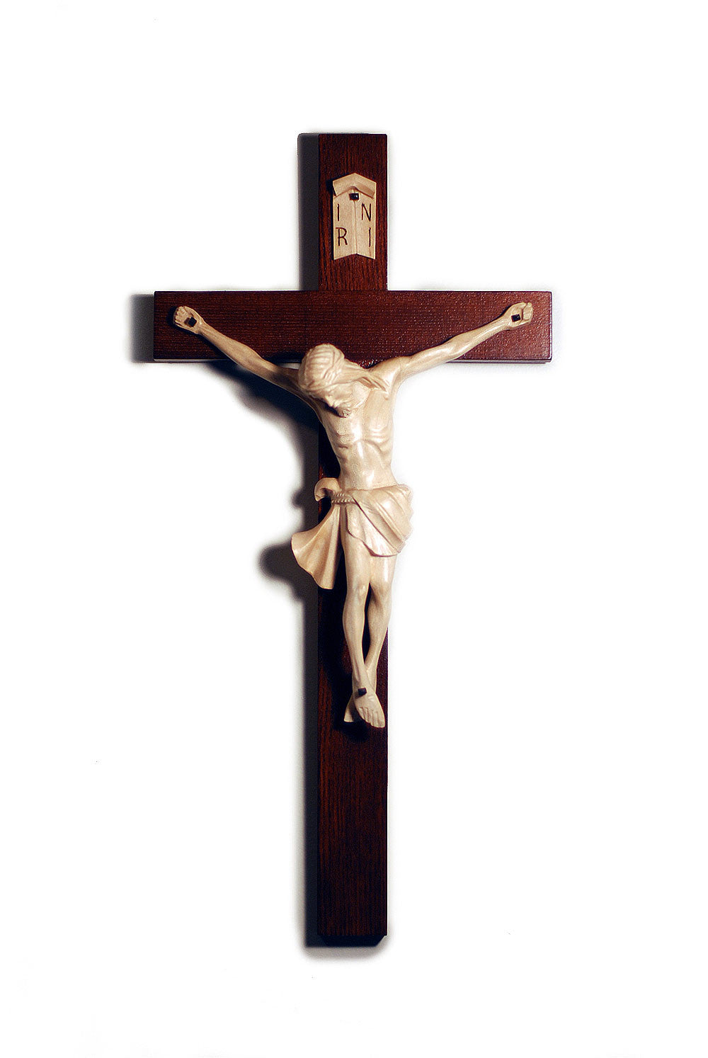 Traditional Chapel Crucifix | Hand Carved