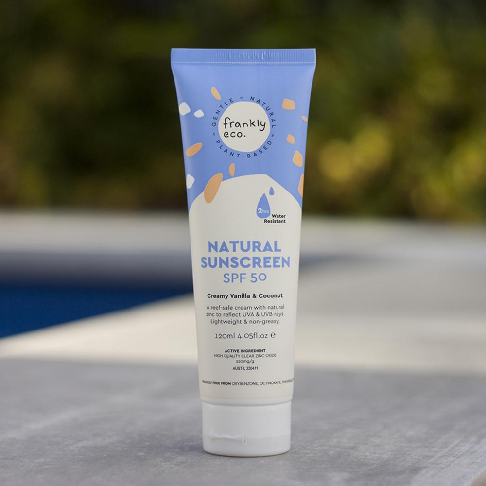 Frankly Eco // Natural Sunscreen 120ml