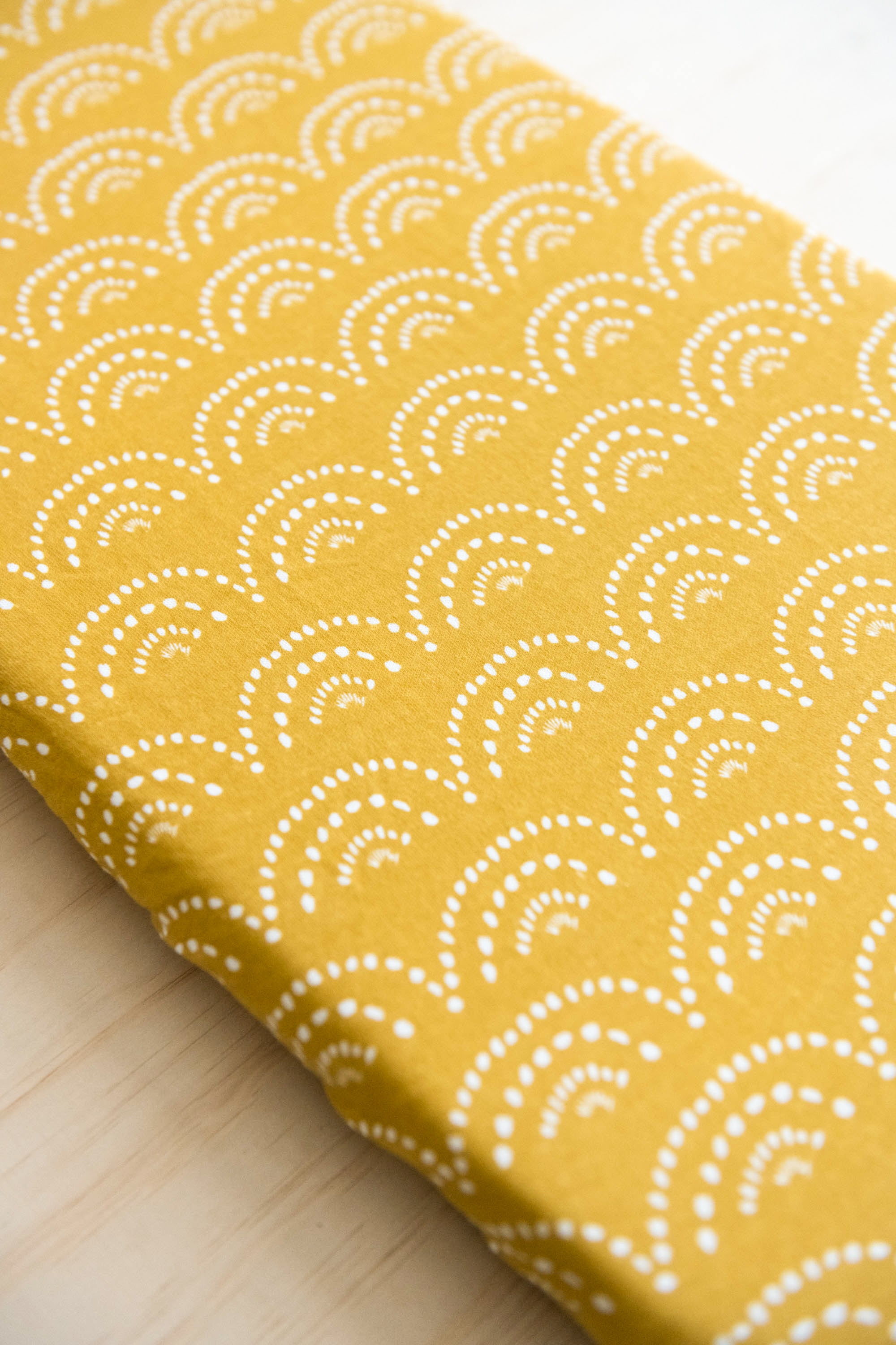 Organic Cotton + Bamboo Fitted Sheets - SUNSET