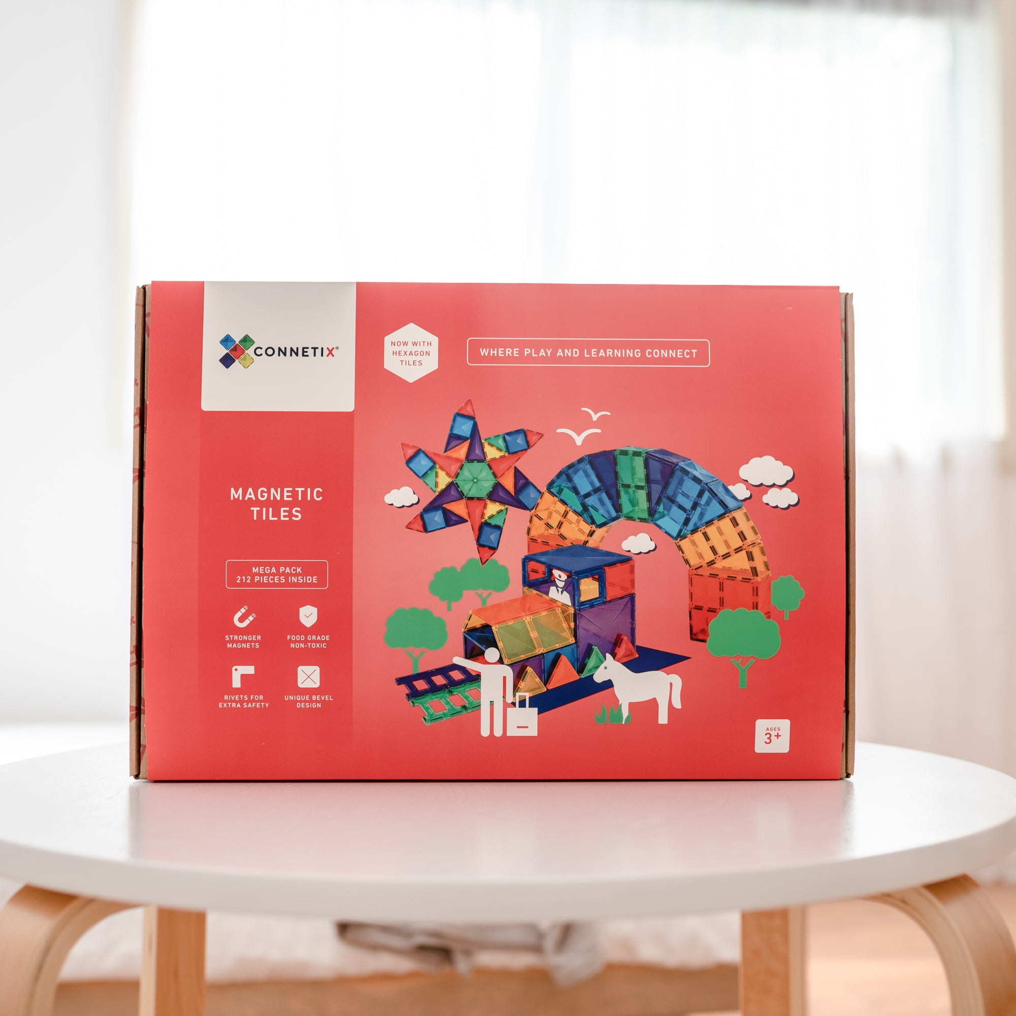 Connetix Tiles // 212 Piece MEGA PACK
