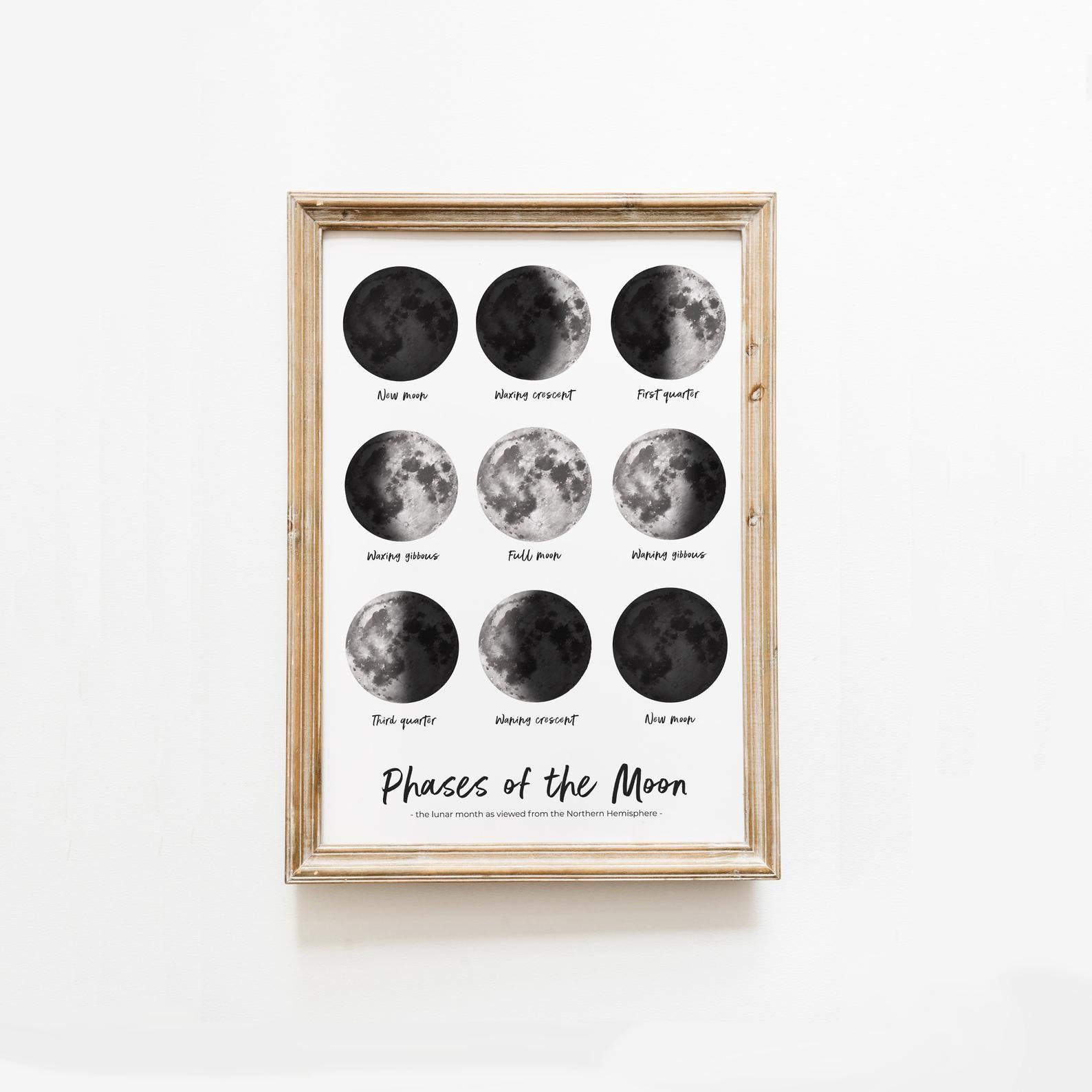 Phases of the Moon (A3)