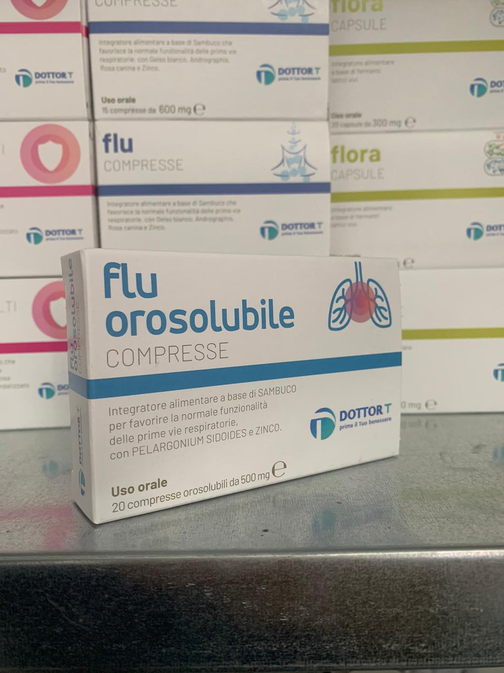 Dottor T  Flu orosolubile