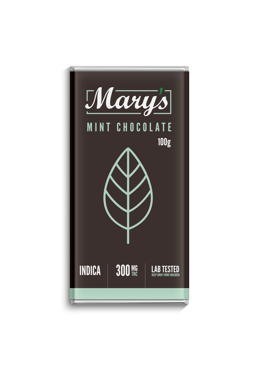 Mary's Medibles Mint Chocolate Bar 300mg THC