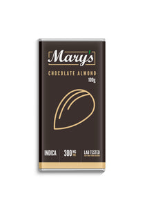 Mary's Medibles Chocolate Almond Bar 300mg THC