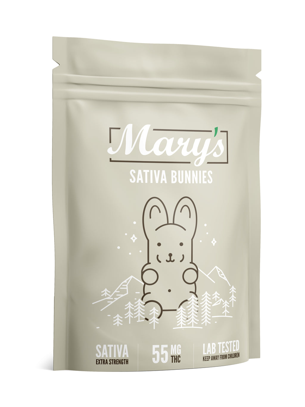 Extra Strength Sativa Bunnies 55mg THC (Marry's Medibles)