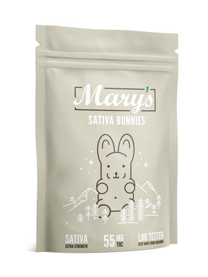 Extra Strength Sativa Bunnies 55mg THC (Marry's Medibles) at The Kush Dispensary