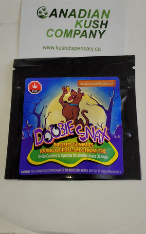 DOOBIE SNAX 100mg THC at The Kush Dispensary