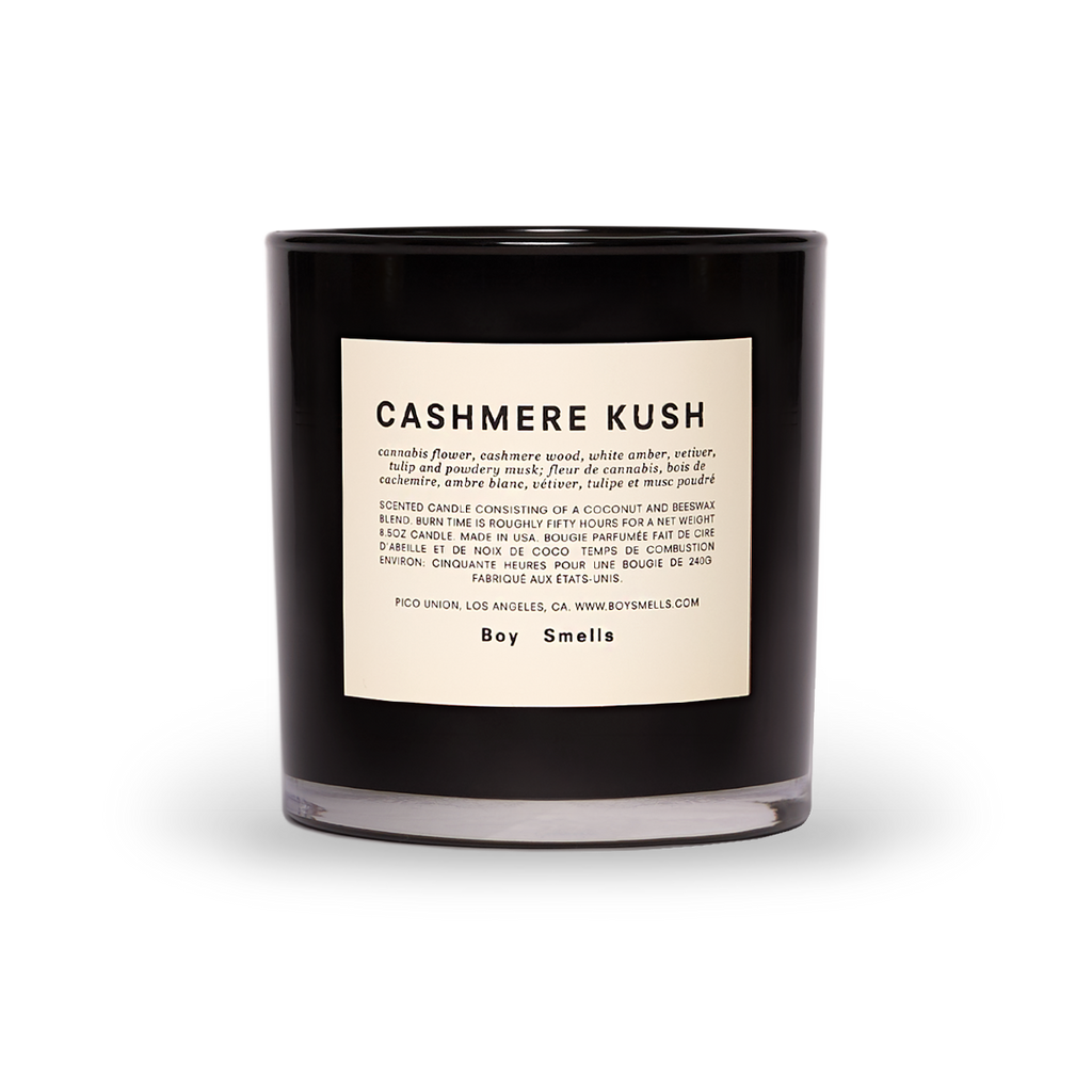 cashmere kush scented candle