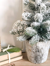 Load image into Gallery viewer, IHS Wreath Ornament - Grande or Petite