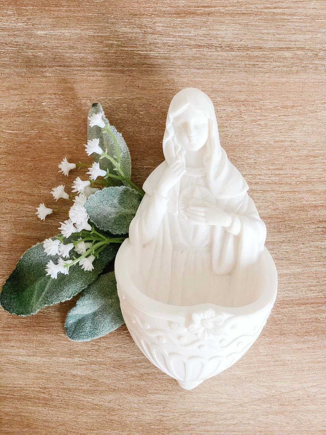 Immaculate Heart Holy Water Font
