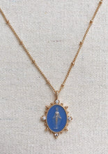 Load image into Gallery viewer, Lady Lourdes Necklace - French Blue