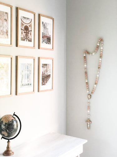 Begin Again Wall Rosary