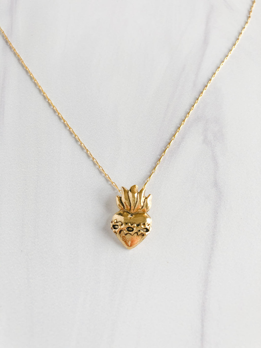 Corazon Sagrado Necklace
