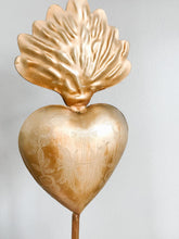 Load image into Gallery viewer, Vintage Sacred Heart on Stand