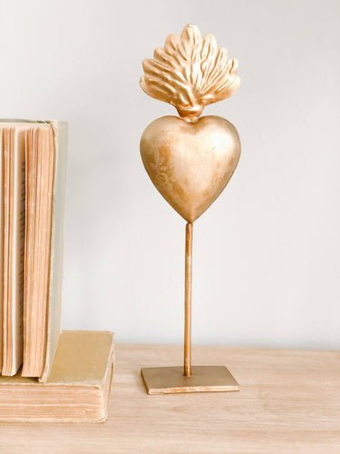 Vintage Sacred Heart on Stand