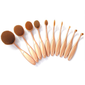 "10 Piece ""The Midas Touch"" Oval Brush Set"