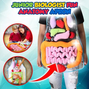 Junior Biologist Fun Anatomy Apron