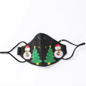 Light Up Christmas Mask