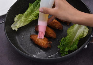 Heat-Resistant Oil Bottle Brush Silicone BBQ Brush