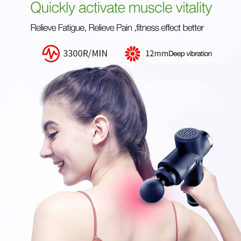 Relieving Pain - Body Deep Muscle Massager