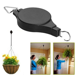Retractable Plant Pulley