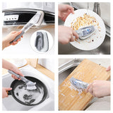 Liquid Filling Handle Kitchen Cleaning Brush