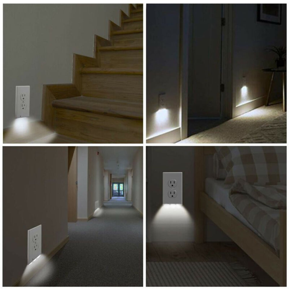 LED Outlet Wall Plates