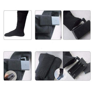 Rechargeable Comfy Heated Electric Battery-Powered Socks