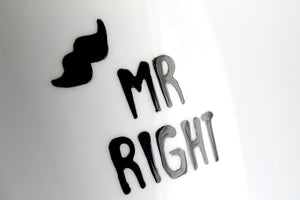 MRS always RIGHT und MR RIGHT (Tassen-Set)