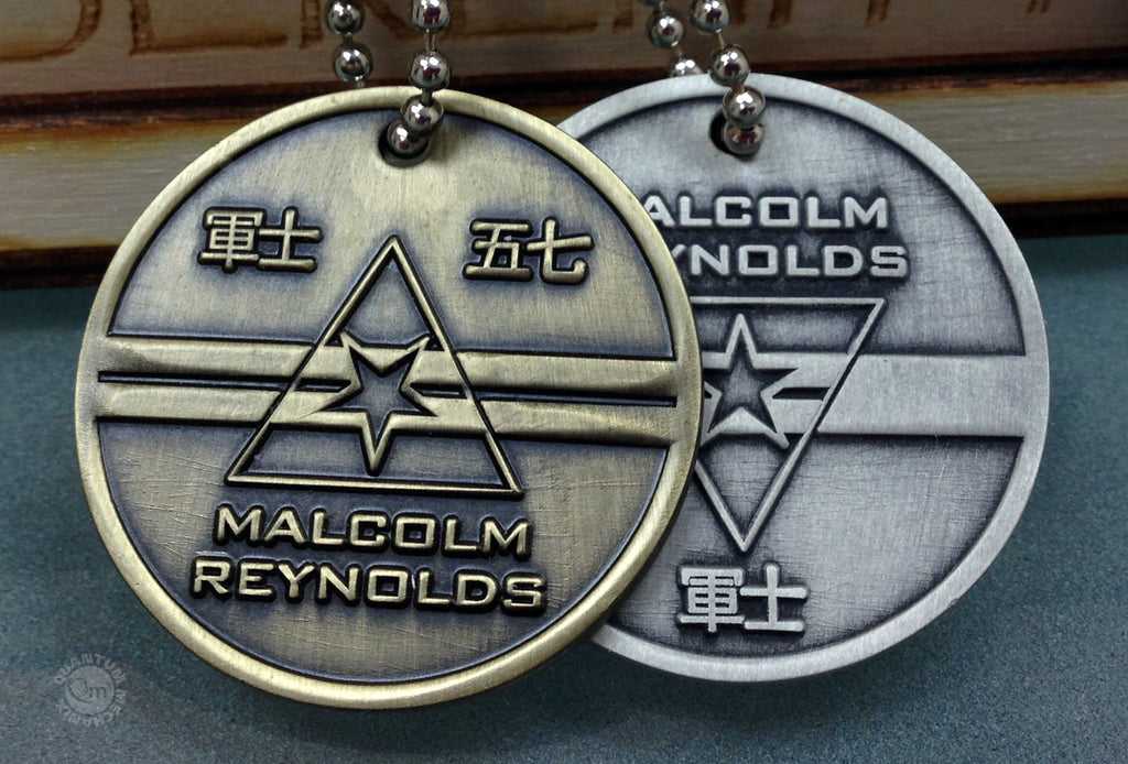 Prototype Firefly Dog Tags – obverse