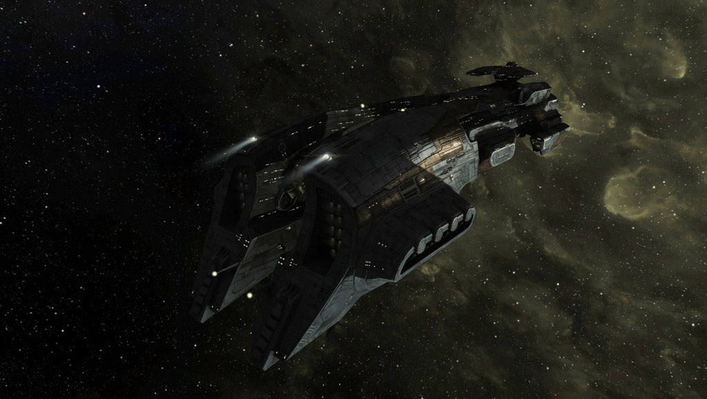 Gallente Megathron from EVE Online