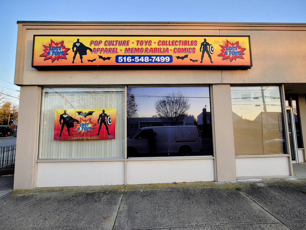 The new retail storefront of Lost4Toys