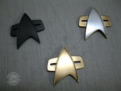 Voyager Badge resin tests