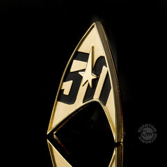 Photo of Star Trek 50th Anniversary Magnetic Badge