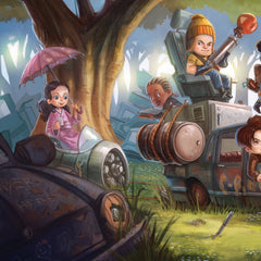 Thumbnail of Firefly Brownie Coats Art Print
