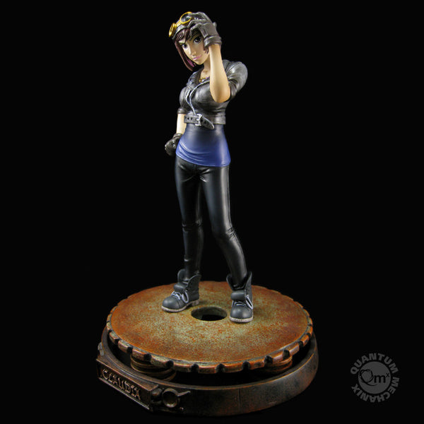 Claudia - Warehouse 13 Animated Maquette #1