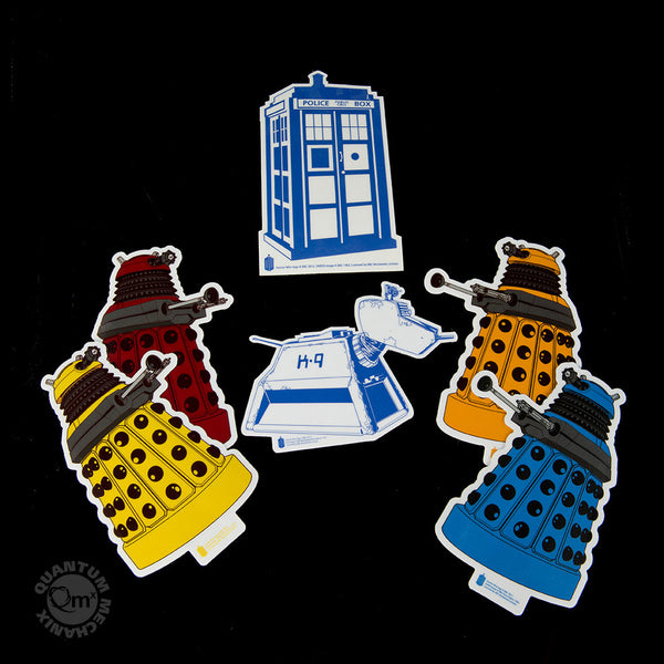 Doctor Who Sticker Set