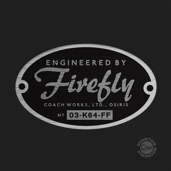 Engineered by Firefly Bumper Sticker